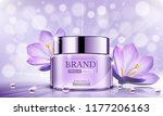 luxury cosmetic bottle package... | Shutterstock .eps vector #1177206163