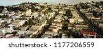 panorama horizontal aerial view ... | Shutterstock . vector #1177206559
