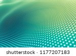 abstract polygonal space low... | Shutterstock . vector #1177207183