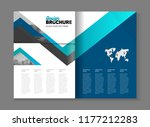 business brochure design vector ... | Shutterstock .eps vector #1177212283