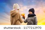 childhood  season and love... | Shutterstock . vector #1177212970