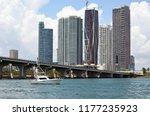 luxury skyscraper condominium... | Shutterstock . vector #1177235923