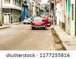 havana cuba. january 2018. a... | Shutterstock . vector #1177255816