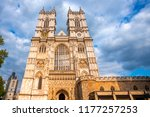 westminster abbey   collegiate... | Shutterstock . vector #1177257253