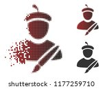 painter icon in sparkle ...   Shutterstock .eps vector #1177259710