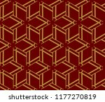 hipster background. geometric... | Shutterstock .eps vector #1177270819