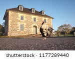morning at the stone store ... | Shutterstock . vector #1177289440