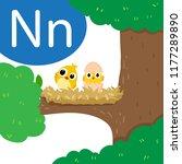 nest drawing line vector design ...   Shutterstock .eps vector #1177289890
