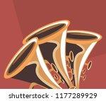 trumpet instrument icon | Shutterstock .eps vector #1177289929