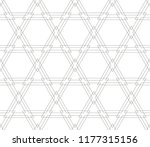 abstract seamless geometries... | Shutterstock .eps vector #1177315156