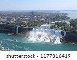 View Of Niagara Falls At Far.