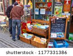 a display of children books and ... | Shutterstock . vector #1177331386