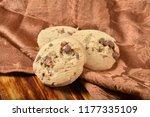delicious gourmet chocolate... | Shutterstock . vector #1177335109