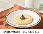 a homemade sugar cookie with a... | Shutterstock . vector #1177337119