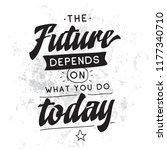 inspirational quote  motivation.... | Shutterstock .eps vector #1177340710