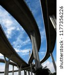 sky overpass with sky           ...   Shutterstock . vector #1177356226