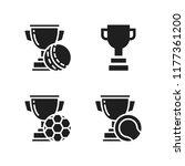 honor icon. 4 honor vector... | Shutterstock .eps vector #1177361200