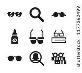 eyesight icon. 9 eyesight... | Shutterstock .eps vector #1177362499