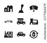 automotive icon. 9 automotive...   Shutterstock .eps vector #1177362679