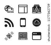 wireless icon. 9 wireless...   Shutterstock .eps vector #1177362739