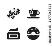 flavor icon. 4 flavor vector... | Shutterstock .eps vector #1177365823