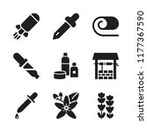 aromatherapy icon. 9... | Shutterstock .eps vector #1177367590