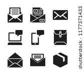 send icon. 9 send vector icons...   Shutterstock .eps vector #1177371433