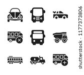 highway icon. 9 highway vector... | Shutterstock .eps vector #1177373806