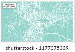 dodoma tanzania city map in... | Shutterstock . vector #1177375339