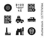 automotive icon. 9 automotive...   Shutterstock .eps vector #1177376566