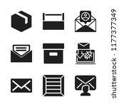 send icon. 9 send vector icons...   Shutterstock .eps vector #1177377349
