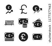 britain icon. 9 britain vector...   Shutterstock .eps vector #1177377463