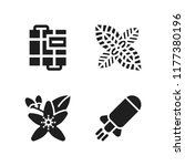 aromatherapy icon. 4... | Shutterstock .eps vector #1177380196
