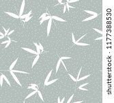 bamboo seamless pattern | Shutterstock .eps vector #1177388530