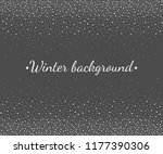 new year  christmas border ... | Shutterstock .eps vector #1177390306