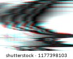 glitch background. abstract... | Shutterstock .eps vector #1177398103