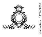 oriental vector damask patterns ... | Shutterstock .eps vector #1177400836