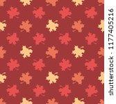 vector seamless pattern of...   Shutterstock .eps vector #1177405216