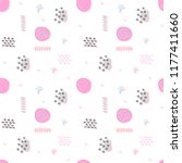 vector seamless pattern with... | Shutterstock .eps vector #1177411660
