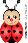 ladybug   Shutterstock .eps vector #117741319