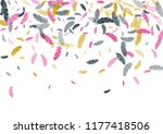 feather ethnic background... | Shutterstock .eps vector #1177418506