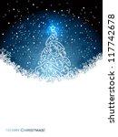 christmas background | Shutterstock .eps vector #117742678