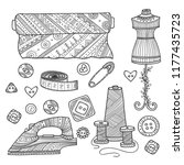 vector illustration of... | Shutterstock .eps vector #1177435723