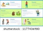 photographer service promo... | Shutterstock .eps vector #1177436980