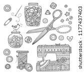vector illustration of... | Shutterstock .eps vector #1177437403