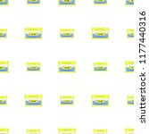 retro seamless background with...   Shutterstock .eps vector #1177440316