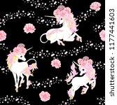 seamless pattern  background... | Shutterstock .eps vector #1177441603