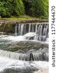 part of aysgarth falls in the... | Shutterstock . vector #1177464670
