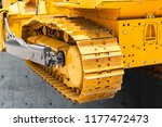 continuous track tank tread... | Shutterstock . vector #1177472473