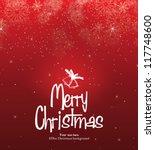 christmas card | Shutterstock .eps vector #117748600